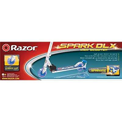 Razor Spark DLX Scooter, Red : Sports Kick Scooters : Sports & Outdoors
