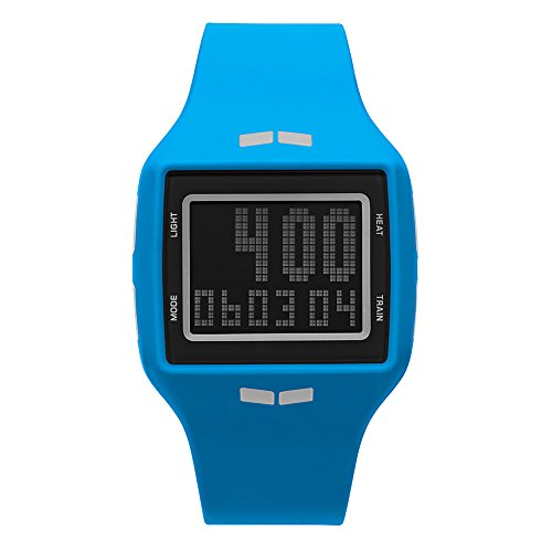Vestal 'Helm' Quartz Plastic and Polyurethane Sport Watch, Color:Blue (Model: HLMDP27)