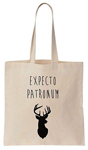 Expecto Patronum Deer Patronus Sacchetto di cotone tela di canapa