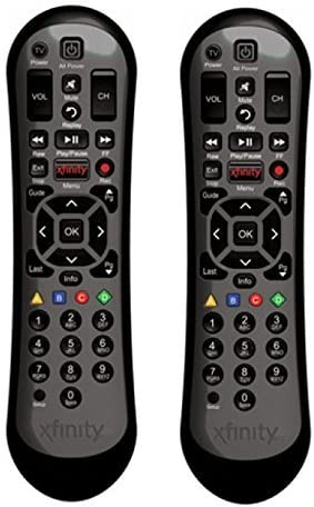 Amazon Com Set Of Two Xr2 Xfinity Comcast Hdtv Dvr Remote Control Home Audio Theater