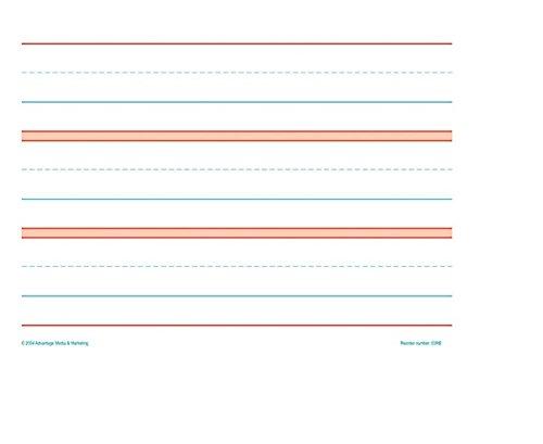 Raised Line Kindergarten Practice Paper (50 Sheets) ()