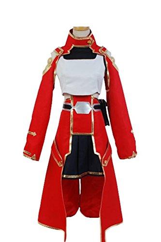 Asada Shino Costume (Cosplaybar Sword Art Online Silica Keiko Ayano Battle Cosplay Costume Male XXL)