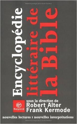 Livres gratuits Encyclopédie littéraire de la Bible : Nouvelles Lectures - Nouvelles Interprétations pdf