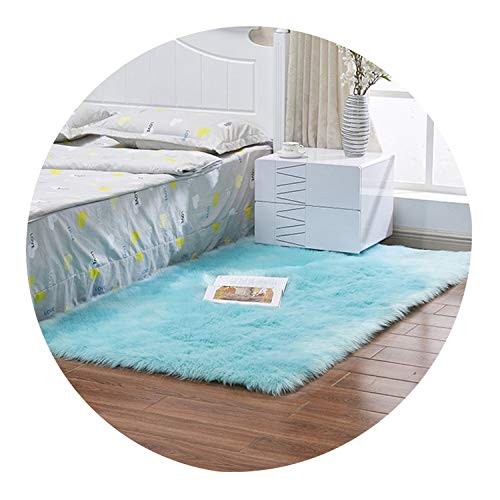Artificial Skin Long Faux Fur Wool Fluffy Carpets for Living Room Plush Chair Seat Cover Area Rug Bedroom Carpet Mat Home Decor,8,200x250CM