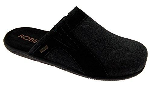 Feltro Tessuto Di Pantofola Antracite Art Scarpa C86170 Lana zwZdxzX4nq
