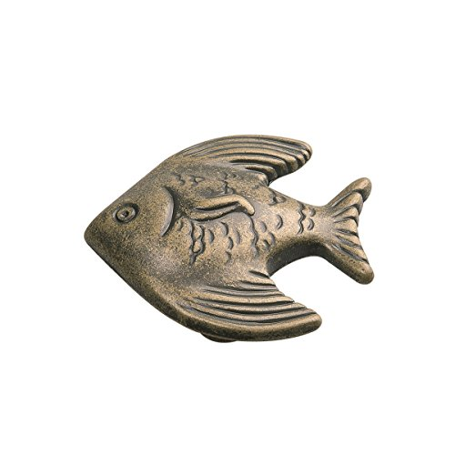 Hickory Hardware PA0115-AM 1-3/8-Inch South Seas Cabinet Knob, Antique Mist ()