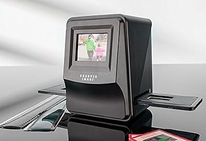 .com: sharper image slide and negative converter: electronics