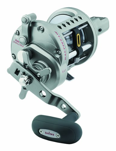 Direct Drive Fly Fishing Reel (Daiwa STTLW50LCHA Saltist Levelwind Line Counter High Speed Reel)