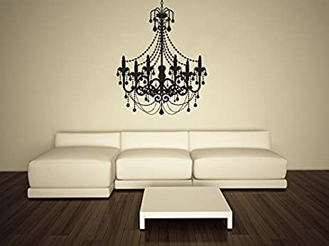 Exceptionnel Wall Decal Vinyl Sticker Decals Art Decor Design Chandelier Luster Light  Living Room Bedroom Modern Mural