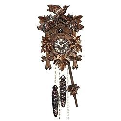 Quartz Cuckoo Clock, 9 Inch
