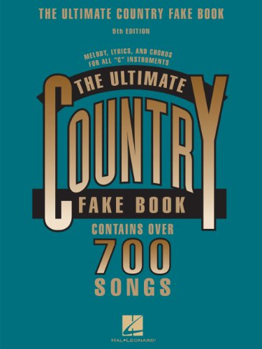 The Ultimate Country Fake Book C Instruments Kindle Edition By