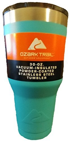 Ozark Trail Sea Foam Green 30oz Vacuum Insulated Powder Coated Stainless Steel Tumbler