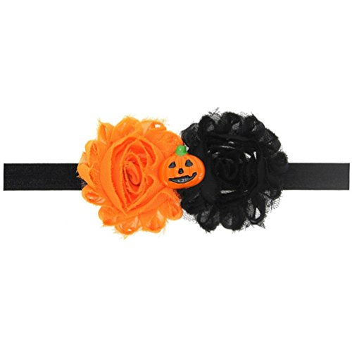 [Euone® Baby Girl Halloween Headdress Elastic Hair Band (A)] (70s Plastic Halloween Costumes)
