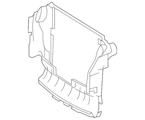 Genuine Mercedes-Benz Housing 164-500-09-16 by Mercedes Benz