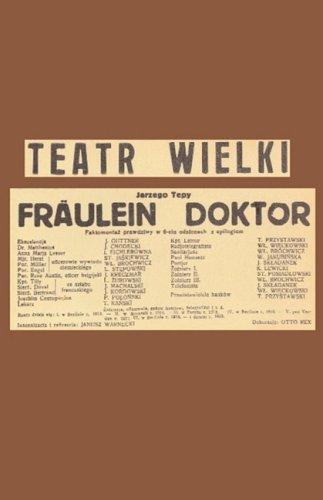 Download Fräulein Doktor PDF