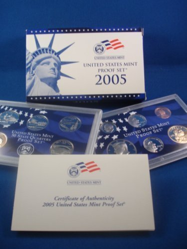 2005 S Proof Set in Original US Government Packaging