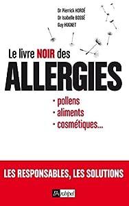 vignette de 'Le livre noir des allergies (Pierrick Hordé)'