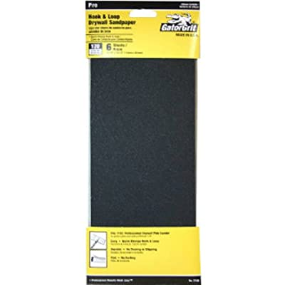 ALI INDUSTRIES 7158 6CT 120 25 CT Grit Drywall Dry Sandpaper