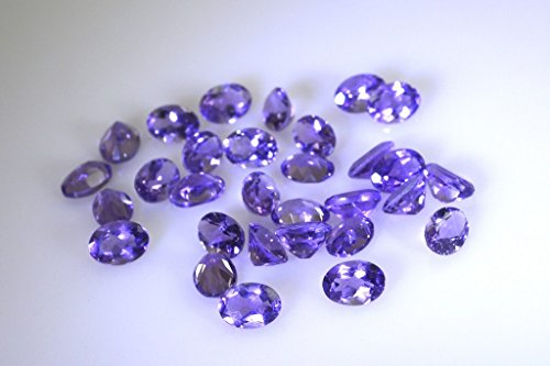 pierres précieuses en vrac améthyste 1 de pièces 5 x 7 mm ovale pierres précieuses facettes violet
