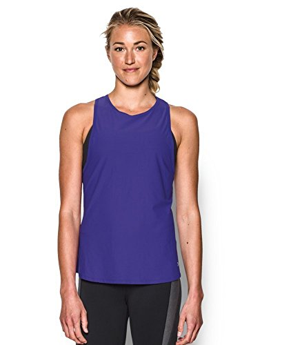 Under Armour Women's CoolSwitch Run Tank, Deep Orchid (899), X-Large