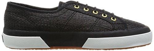 adulti miste raffiau nere Superga per sneakers 2750 UYAYx67