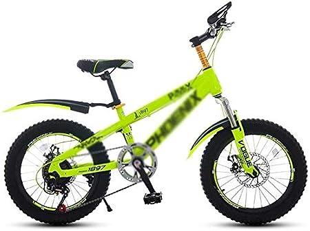 Bicicleta Bicicletas Niño Niña de Bicicletas de 18 Pulgadas ...
