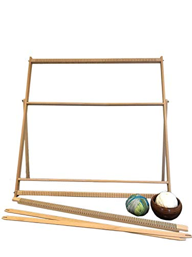 XXL Extra Large Weaving Loom Kit (89 cm x 87 cm) with Stand, Professional Tapestry Loom -
