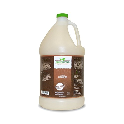 Groom Shampoo (Green Groom Oatmeal Shampoo, 1 gallon)