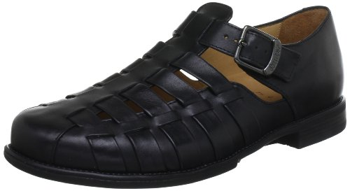Ganter Greg, Weite G 5-257241-01000 - Mocasines de cuero para hombre Negro (Schwarz (schwarz 0100))