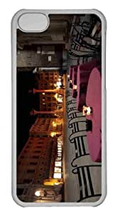 Customized iphone 5C PC Transparent Case - Venice At Night 2 Personalized Cover by mcsharks