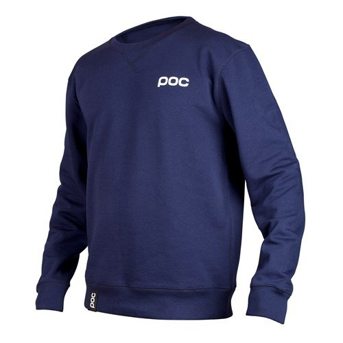 POC Crew Neck Skateboarding Hoodie, Dubnium Blue, Large