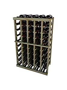 Vintner Series Wine Racks 50 Bottle 3 Ft Height - Premium Redwood Unstained