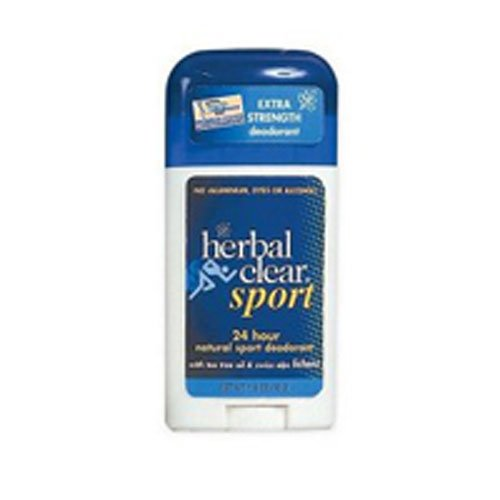 (Herbal Clear 24 Hour Natural Sport Deodorant -- 1.8 oz)