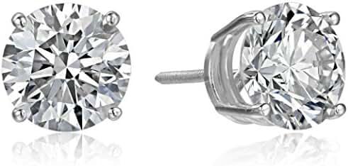 IGI Certified 14k Gold Lab Diamond Stud Earrings (1/4 - 4 cttw, I-J Color, SI1-SI2 Clarity)