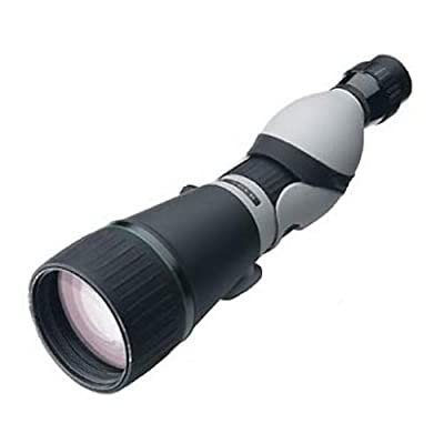 Leupold Kenai HD Straight Spotting Scope, Gray/Black, 25-60 x 80mm