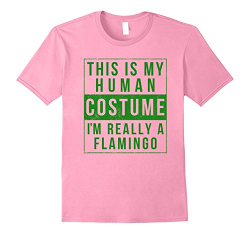 Mens Flamingo Halloween Costume Shirt Easy Funny Men Women Kids XL Pink - Flamingo Halloween Costume Ideas