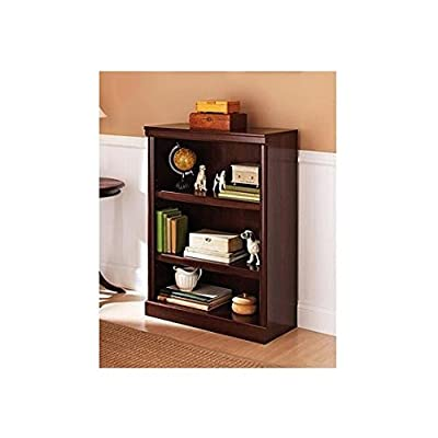 Better Homes and Gardens Ashwood Road 3-Shelf Bookcase - Bookcase has 2 adjustable shelves Patented slide-on moldings Better Homes and Gardens furniture features modern style - living-room-furniture, living-room, bookcases-bookshelves - 41NxOQ0qyVL. SS400  -