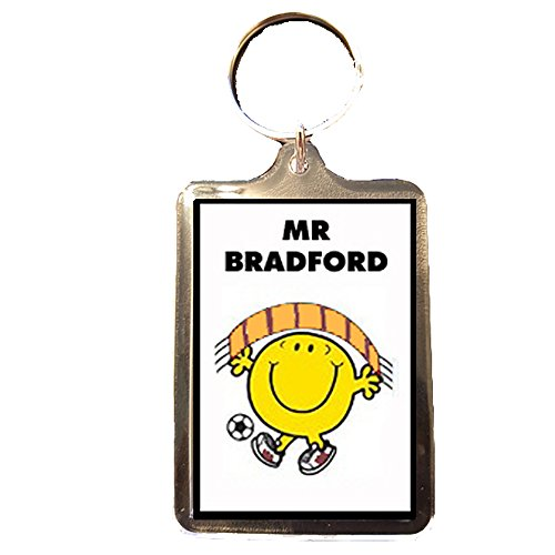 Bradford City F.C - Mr Football Keyring