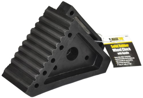 MaxxHaul Towing Products 70472 Black Wheel Chock,2 Pack