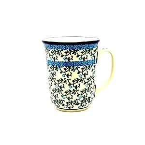 Polish Pottery Mug – 16 oz. Bistro – Terrace Vines