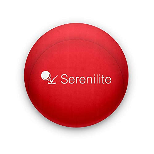 Serenilite Hand Therapy Stress Ball - Optimal Stress Relief - Great for Hand Exercises and Strengthening (Rose)