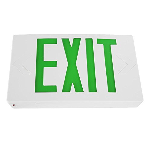 3.6v Emergency Lighting Battery - eTopLighting LED Exit Sign Emergency Light Lighting Emergency LED Light / Battery Back-up / Green Letter, AGG898