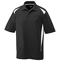 Augusta Sportswear MEN'S PREMIER SPORT SHIRT S White/Orange