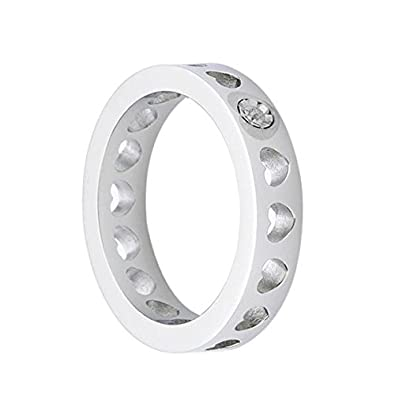 482ffa5f2a6816 Morellato Anello CULT S0R070 Fedina Traforata Cuori Diamante Naturale:  Amazon.it: Gioielli