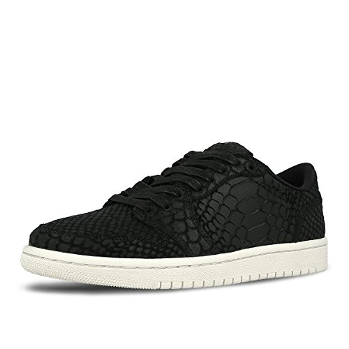 Jordan Air Wmns 1 Retro Low No Swoosh Lifestyle Shoes Women - 4.5 by Jordan