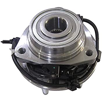 4WD Only DRIVESTAR 513124x2 Pair New Front LH RH Hub Bearing Assembly for 4X4 w//ABS GMC Chevy GM Trucks