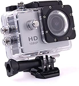 Margoun Full HD sports Helmet Waterproof Action Camera H264 - Silver