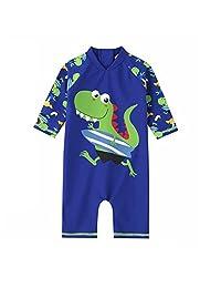 TimNas Sun Protective Baby Boys Swimsuit One Piece Rash Guard - UPF 50+