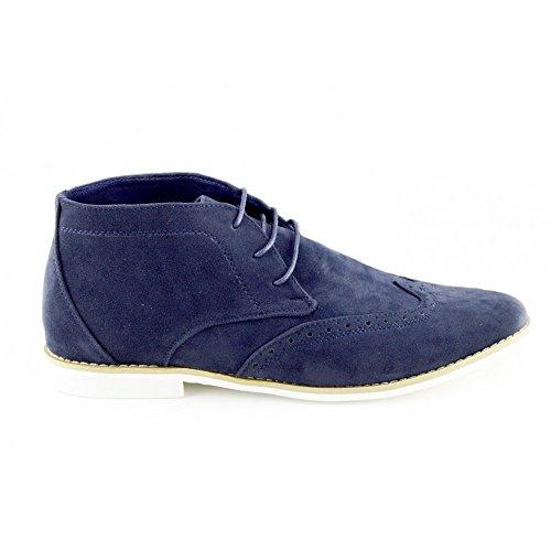 Lace Up Suede Boots Marina Casual Mens Desert Cima Classiche Caviglia Alta Scarpe wXdIEq