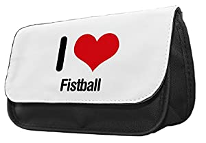 I love FAUSTBALL Bleistift Fall/Make-up Tasche 0893